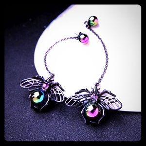 COPY - 🌈Betsey Johnson Iridescent Bee Drop Earrin…